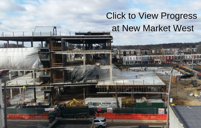 New Market West Topping Ceremony
